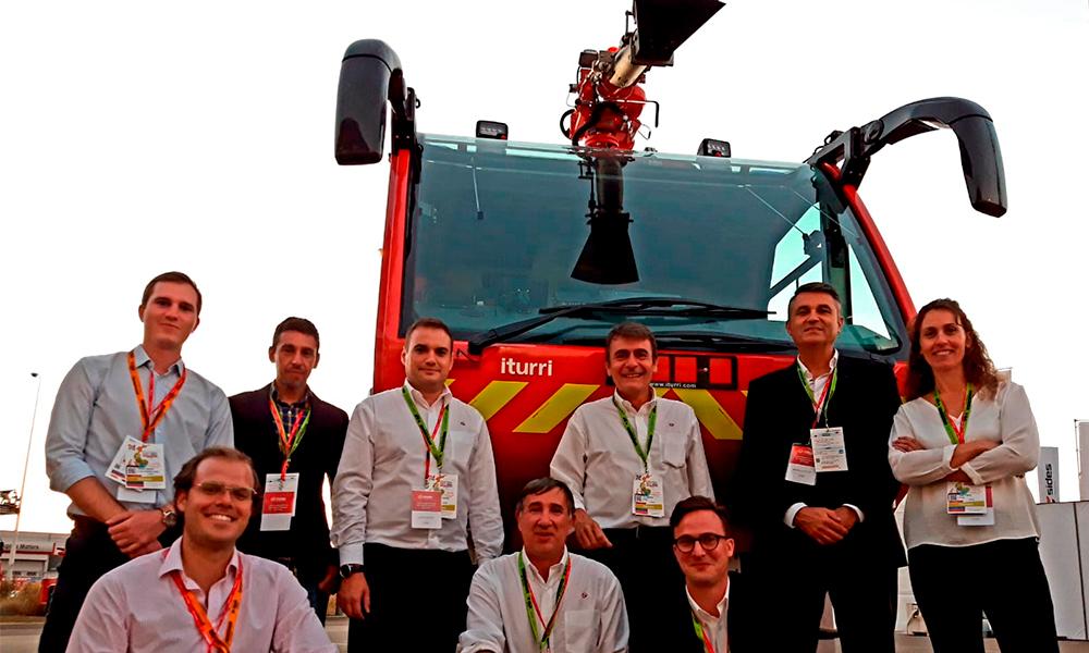 ITURRI participa en el 125 Congreso Nacional de Bomberos de Francia