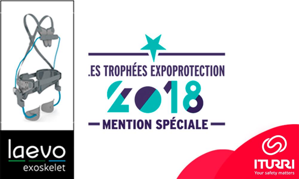 El Salón Expoprotection de Francia premia la innovación del exoesqueleto Laevo