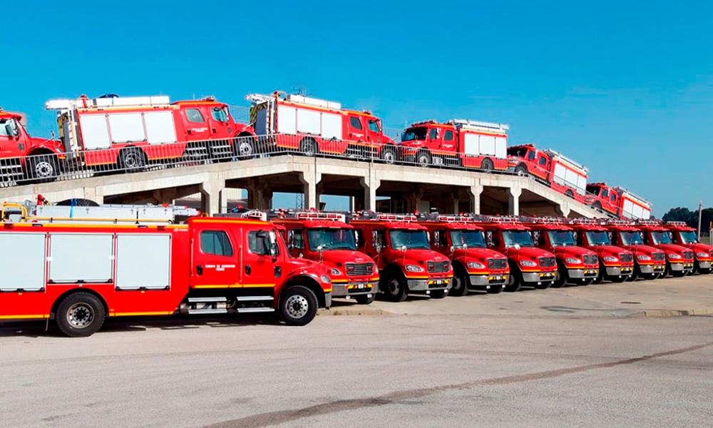 Entregados 30 vehículos de Emergencias para la Región de la Araucanía (Chile)