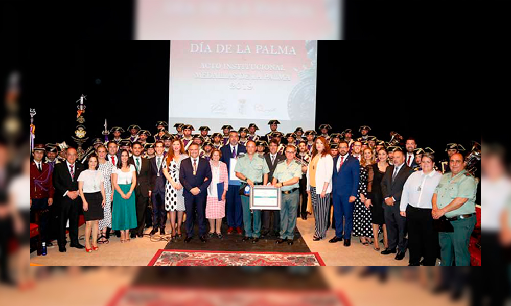 La Fábrica de Calzado de ITURRI recibe la Medalla de La Palma del Condado a la Promoción Empresarial