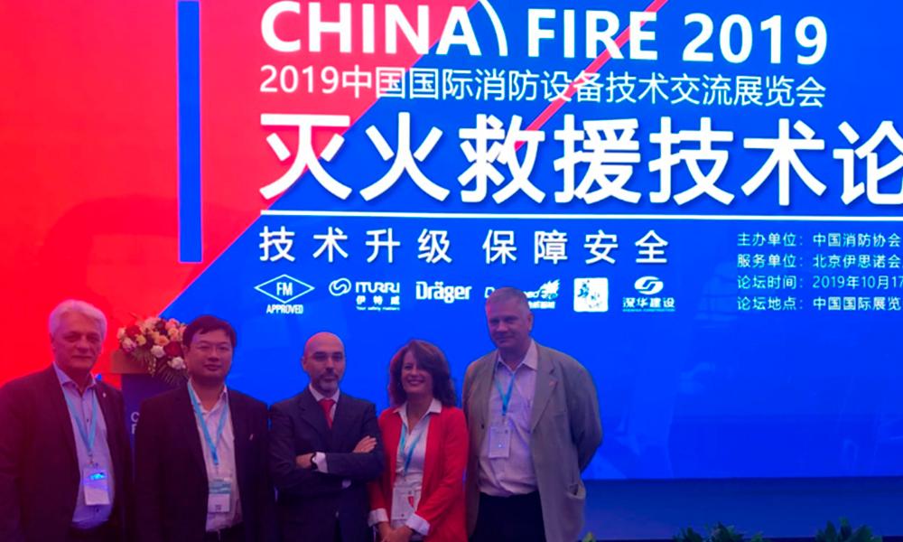 ITURRI presenta en la China Fire 2019 de Beijing sus soluciones para vehículos de emergencias