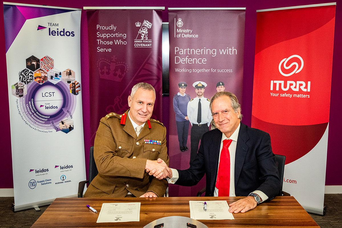 ITURRI refuerza su compromiso con el Ejército Británico con el UK Armed Forces Covenant