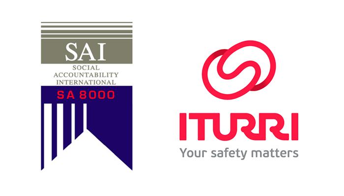 La fábrica de Vestuario de ITURRI recibe la certificación SA8000 de buenas prácticas sociales