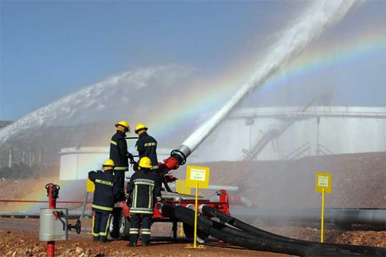 instalaciones contraincendios plantas industriales