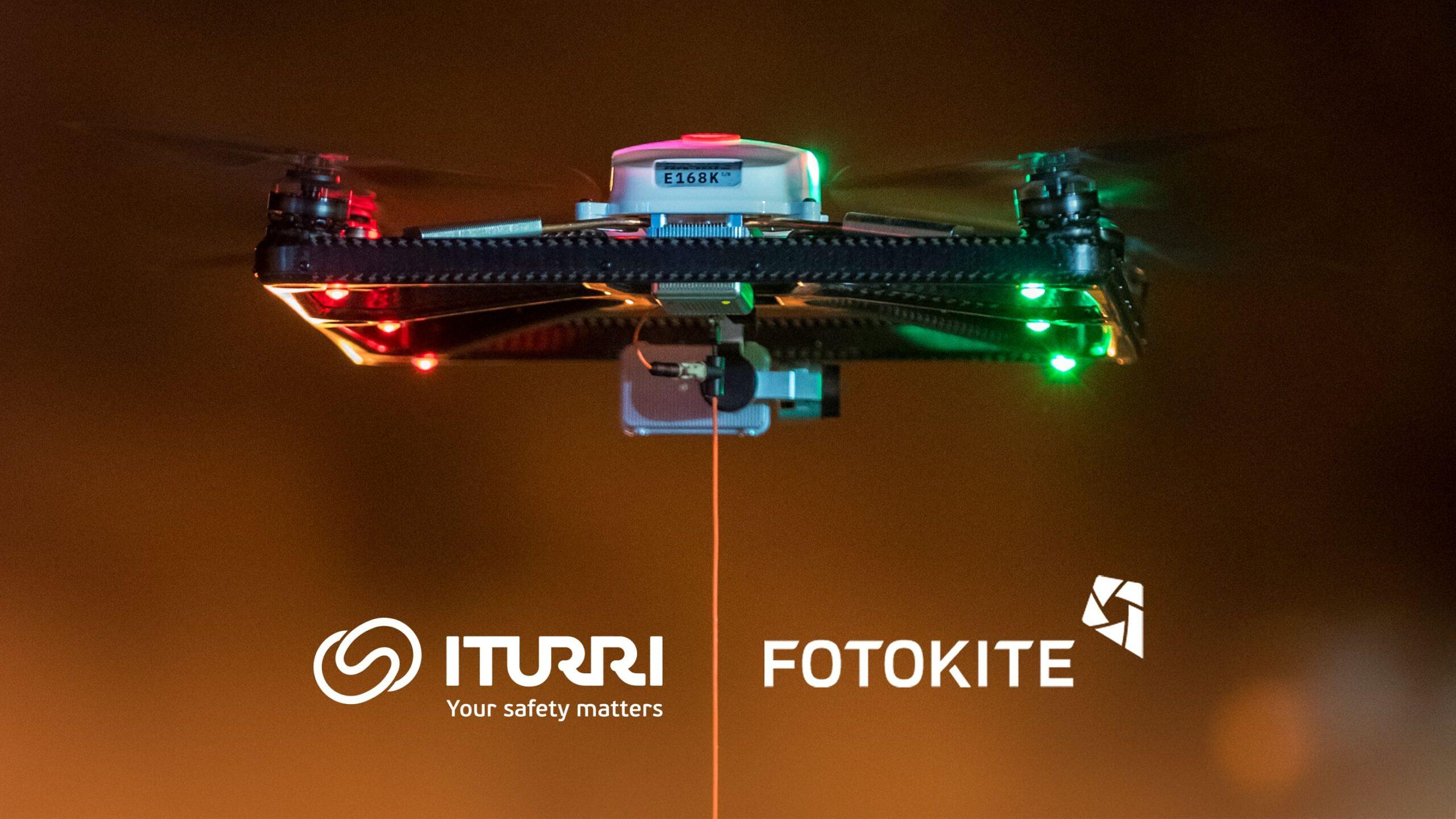 Fotokite se asocia con ITURRI para facilitar nuevas soluciones